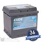 Аккумулятор автомобильный EXIDE Premium 6CT 53Ah, пусковой ток 540А [–|+] (EA530), фото 5