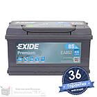 Аккумулятор автомобильный EXIDE Premium 6CT 85Ah, пусковой ток 800А [–|+] (EA852), фото 2