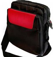 Удобная городская сумка на плечо VERUS Monte Carlo MC.10.red красный