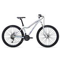 """Горный велосипед Giant Tempt 2, колеса 27.5"""" белый/синий S (GT)"""