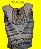 Женская вышитая блузка
