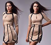 Платье повседневное недорого 1186 ГФ