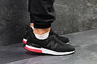 Мужские кроссовки в стиле New Balance 574 Black/White, черные 44 (28,6 см)