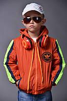 Детская куртка турецкая плащёвка на девочку и на мальчика № 114-3 е.в