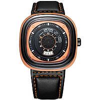 Часы Megir Orange Black MG2027 ML2027G BKOE-1N11, КОД: 115978