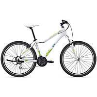 """Горный велосипед Giant Enchant 1, колеса 26"""" белый/зеленый M/18 (GT)"""