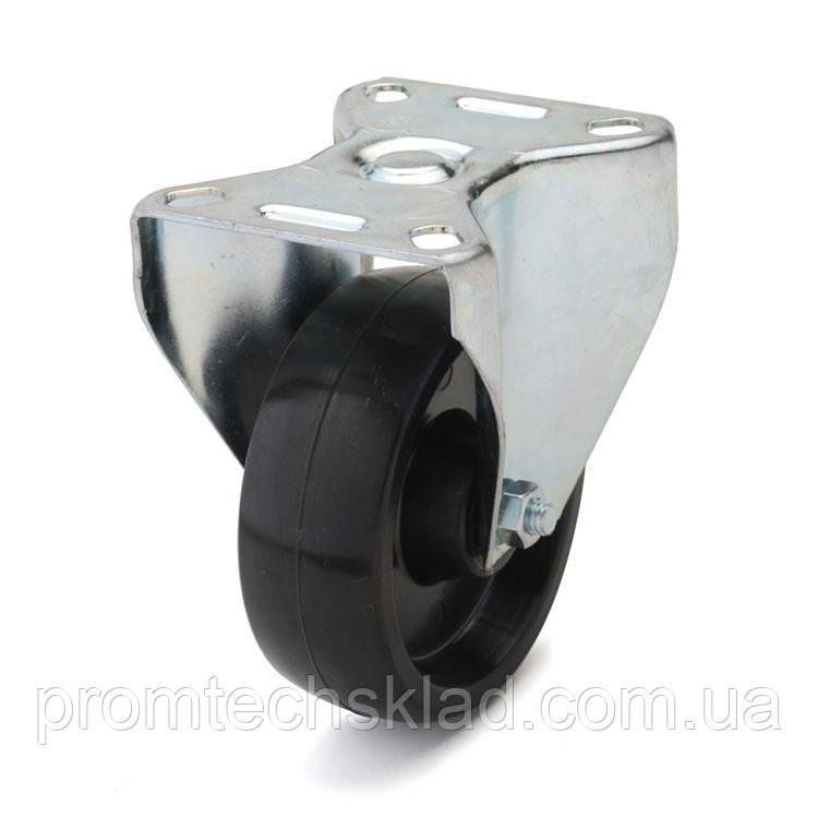 Колесо из фенольной смолы неповоротное 100 мм (тефлоновая втулка)