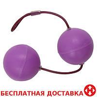 Вагинальные шарики Frisky Super Sized Silicone Benwa Kegel Balls, 4,5 см диаметр