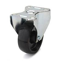 Колесо из фенольной смолы неповоротное 100 мм (стальная втулка)