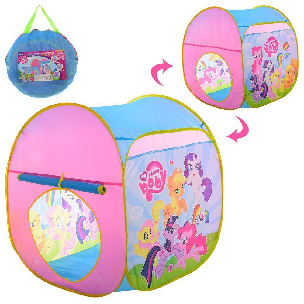 Палатка игровая Куб Little Pony 71-70-90см
