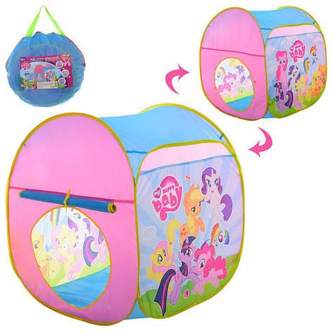 Палатка игровая Куб Little Pony 71-70-90см, фото 2