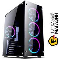 Корпус 1st Player Fire Dancing-V2 Color LED Black без БП (6931630212034)