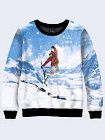 Свитшот Лыжник в горах