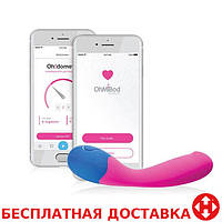 OhMiBod - blueMotion App Controlled Nex 2 вибратор, 16,5х3,2 см.