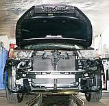 Декоративно-защитная сетка радиатора Toyota Highlander 2013-  фальшрадиаторная решетка, бампер, фото 2