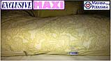 Подушка для вагітних Maxi Exclusive, в комплекті наволочка 2-стороння - Жовтий.візерунки+жовтий.точки, фото 5