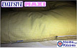Подушка для вагітних Maxi Exclusive, в комплекті наволочка 2-стороння - Жовтий.візерунки+жовтий.точки, фото 7