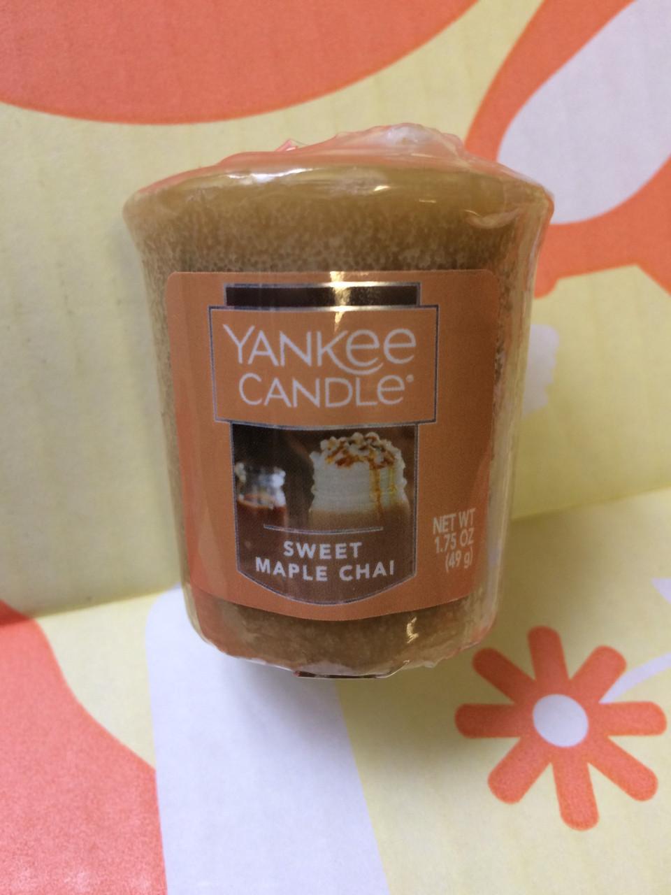 """Свеча ароматическая """"Сладкий чай"""" Yankee Candle"""