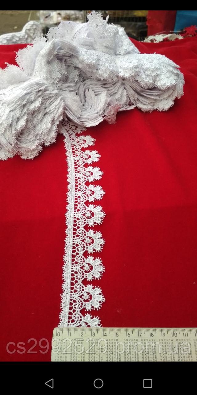 Кружево макраме 20 метров белое. Кружево макраме цветы