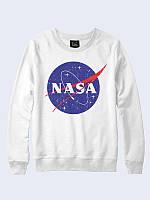 Свитшот NASA космос белый