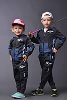 Спортивный костюм на девочку и на мальчика Джинс двойка № 115 е.в