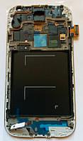 Samsung Galaxy S4 GT-i9500 дисплей LCD + тачскрін з рамкою сенсор оригінальний