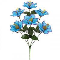 Искусственные цветы букет колокольчик, 36см