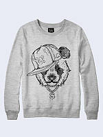 Свитшот Панда в кепке