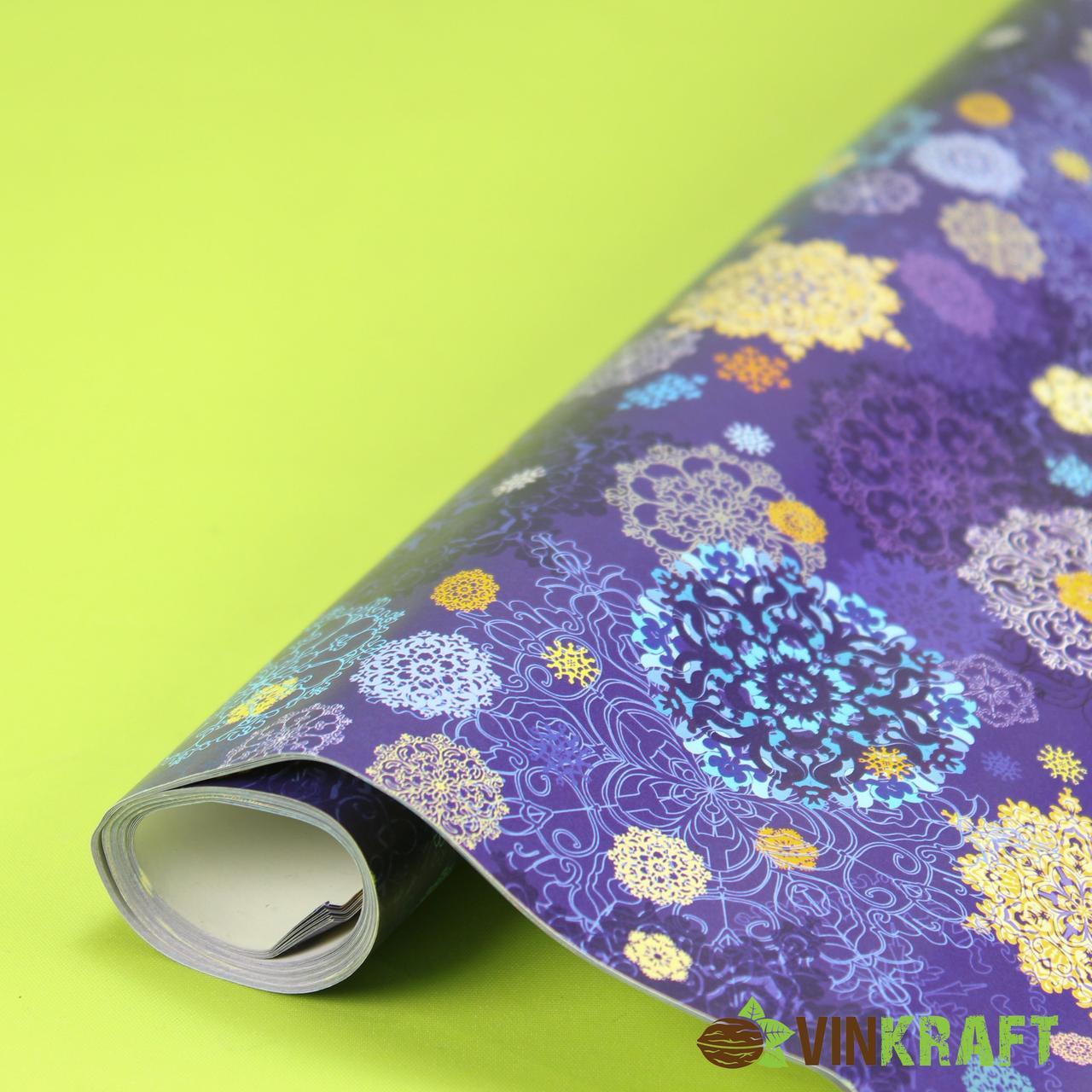 Подарунковий папір 100*70 см ( 10 аркушів)