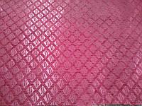 Меблева тканина шеніл Туреччина ширина 150 см колір малиновий, фото 1