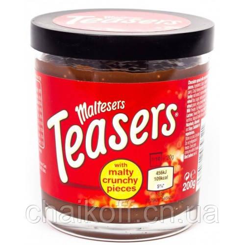 Шоколадная паста с хрустящим печеньем MALTESERS TEASERS 200 г (Испания)