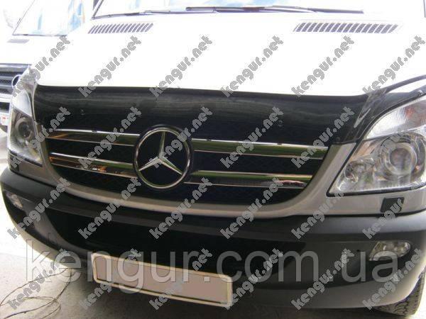 Хром Накладки на решетку (нерж.) Mercedes Sprinter (2006 - ...)