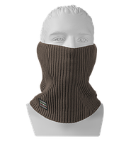 Шарф Бафф (Снуд) мужской вязаный Elf коричневый, Oxygon Россия