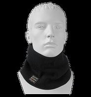 Шарф Бафф (Снуд) мужской вязаный Wookie черный, Oxygon Россия