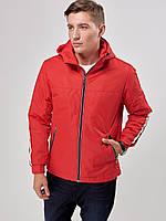 Мужская демисезонная куртка Riccardo Т1 52 Red 2rc02152, КОД: 715199