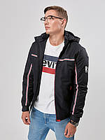 Мужская демисезонная куртка Riccardo Т2 54 Blue 2rc02654, КОД: 715220
