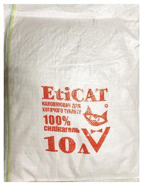 Наполнитель для кошачьего туалета Eticat 10 л ЭКОНОМ