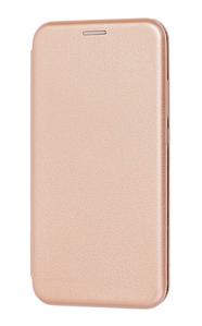Чехол (книжка) премиум для Xiaomi MI 9 lite золотая