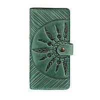 Портмоне BlankNote 7.0 Инди Изумруд, зеленый (BN-PM-7-iz-ls), кожаный, фото 1
