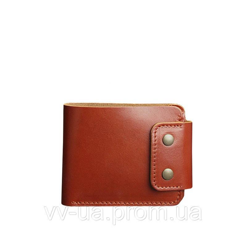 Портмоне BlankNote Zeus 9.0 коньяк, коричневый (BN-PM-9-k), кожаный