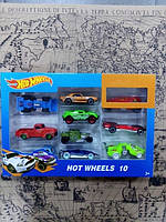 Набор из 10-ти машинок Hot Wheels