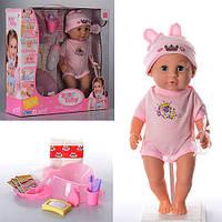 Кукла-пупс говорящая 30801-6, интерактивная