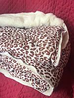 Одеяло/ковдра овчина двуспальный размер 150х220, фото 1