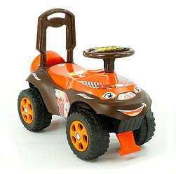 Каталка-толокар Автошка 1 0141-01 цвет коричнево-оранжевый Фламинго, без музыки - 180093