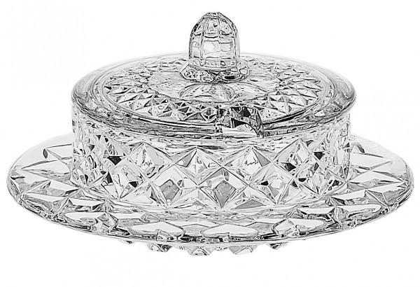 Блюдо/икорница хрустальная BOHEMIA Diamond 3806 (52300/06600/130)