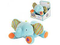 Мягкая игрушка Слоник музыкальный WinFun 0231-NL