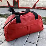 Женская спортивная сумка дорожная сумка из искусственной кожи Красный, фото 2