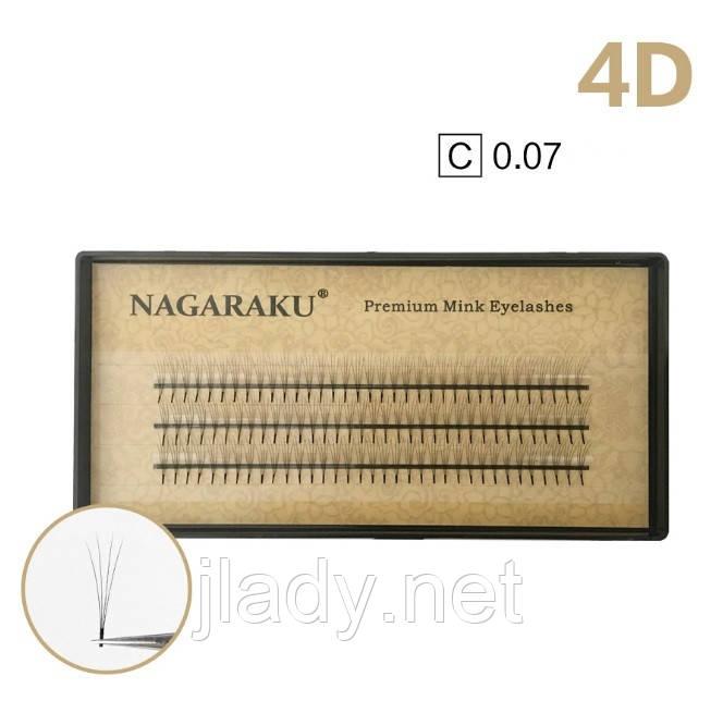 Ресницы Nagaraku 4d