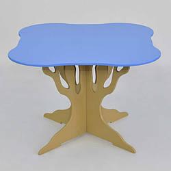 Стол дерево 5220 - цвет голубой 1 Мася - 181698