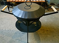 Мангал, жаровня, сковородка барбекю, фото 1